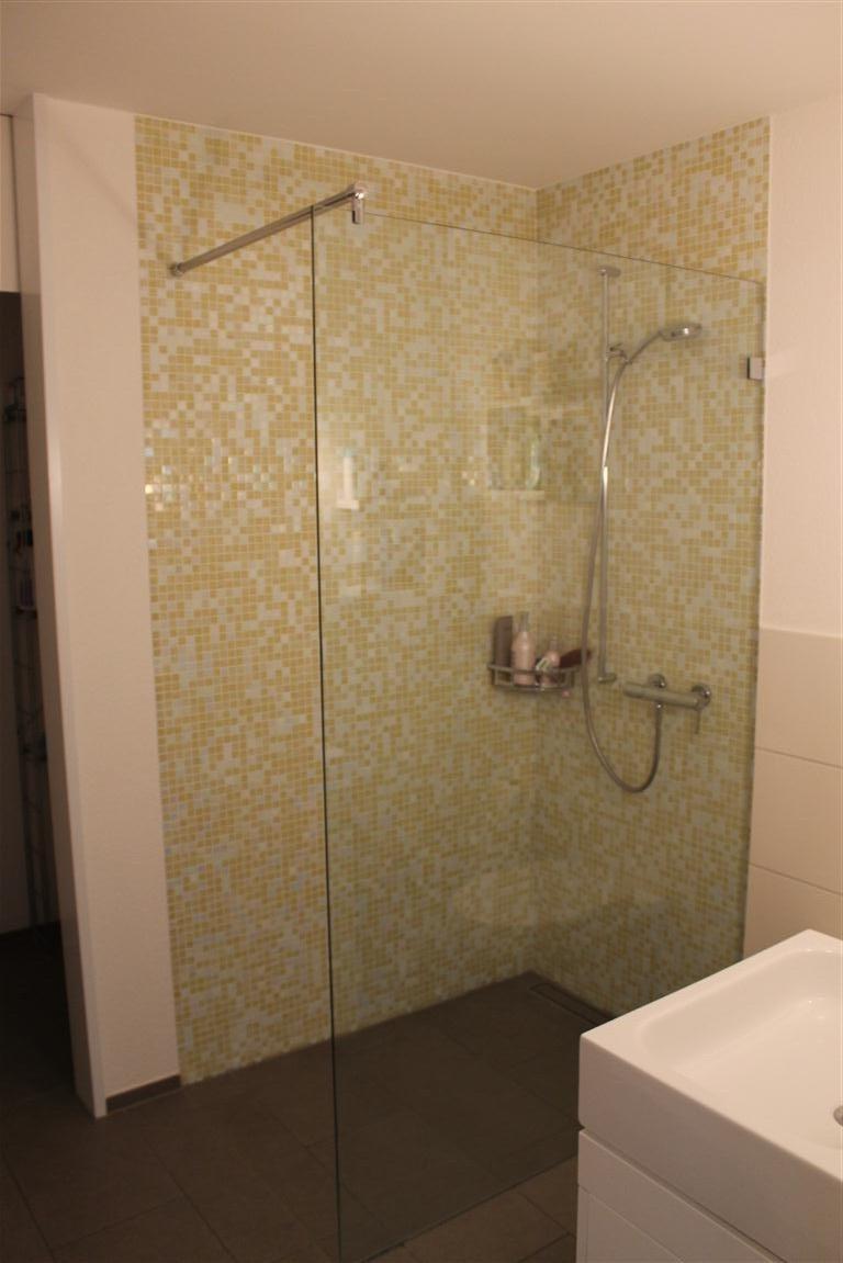 Duschtrennwand  Duschtrennwand-Glas-8-mm-ESG- Visioglas