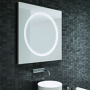 Badspiegel und Wandspiegel