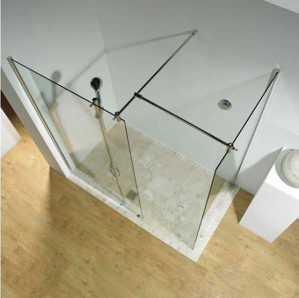 Glas Befestigung glas walk in dusche beispiel einer 2 teiligen dusche und deren