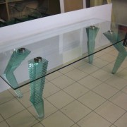 Glastisch 3 l UV-Verklebung