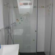 Nischen-Duschwand mit System BX01 l Glas 8 mm ESG