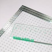 Rutschsichere Beschichtung von Glas