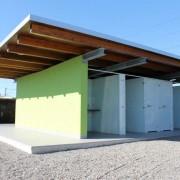 WC Kabinen l Camping Bollingen l Glas VSG l Farbe Polarweiss-1