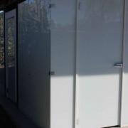 WC Kabinen l Camping Bollingen l Glas VSG l Farbe Polarweiss-2