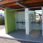 WC Kabinen l Camping Bollingen l Glas VSG l Farbe Polarweiss-3