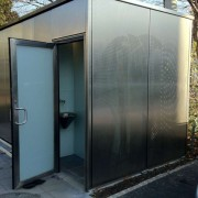 WC Wandverglasung l Spalentor Basel