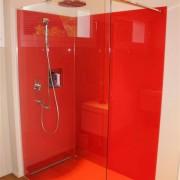 Duschtrennwand & Glasruckwande inkl. Ausschnitte fur Armaturen