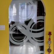 Glasschiebetur 2 System Classico l Glas VSG mit Design