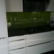 Kuchenrruckwand nach Mass l Glas 6 mm ESG Extraweiss-2