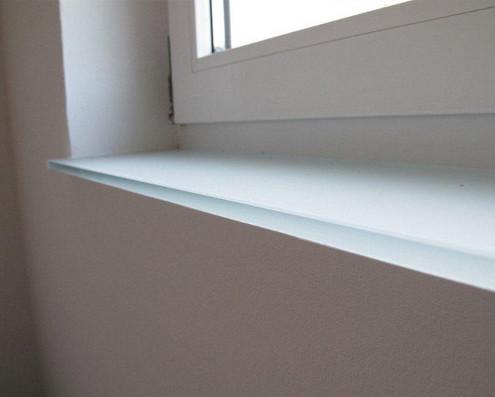 Fensterbänke aus Glas - jetzt bei Visioglas!