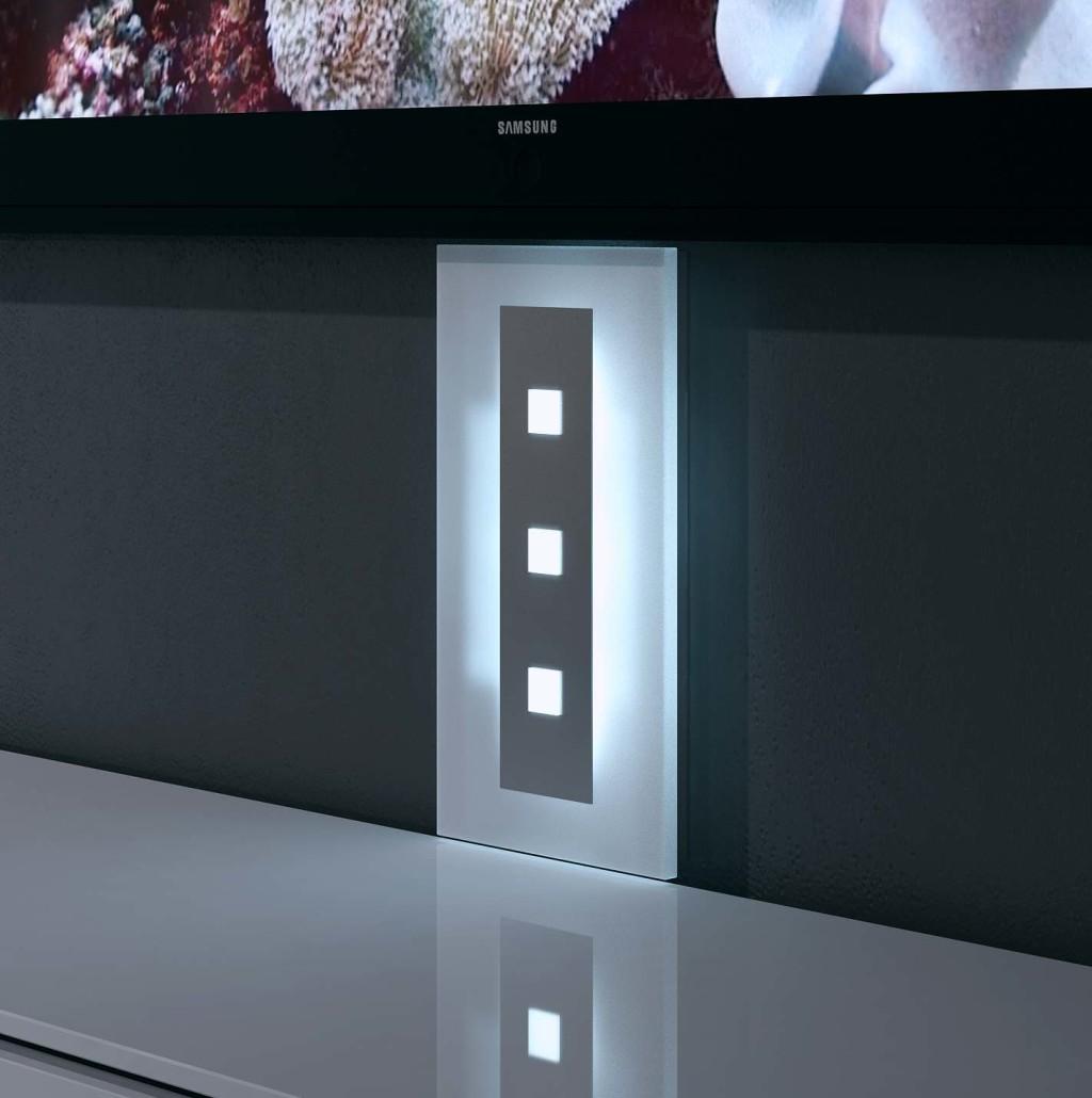 tv kabelkanal visioglas. Black Bedroom Furniture Sets. Home Design Ideas